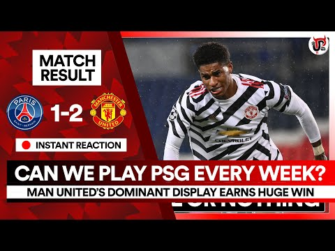 Solskjaer MASTERCLASS In Paris | PSG 1-2 Man Utd