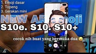 AR emoji Galaxy S10 S10E S10 Plus S9