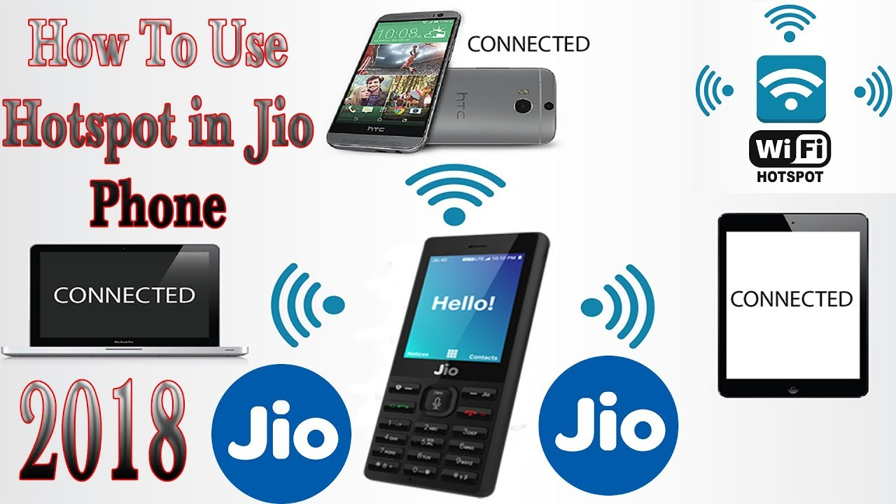 How to create hotspot in jio keypad mobile