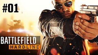 Прохождение Battlefield Hardline - Часть 1: Пролог; Снова в школу [1/2] (Без комментариев) 60 FPS