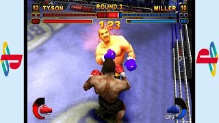 PS1 - Mike Tyson Boxing Gameplay