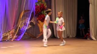 Акробатический рок-н-ролл дети-дебют