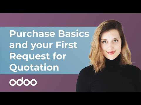Download Purchase Basics and Your First Request for Quotation | Odoo Purchase