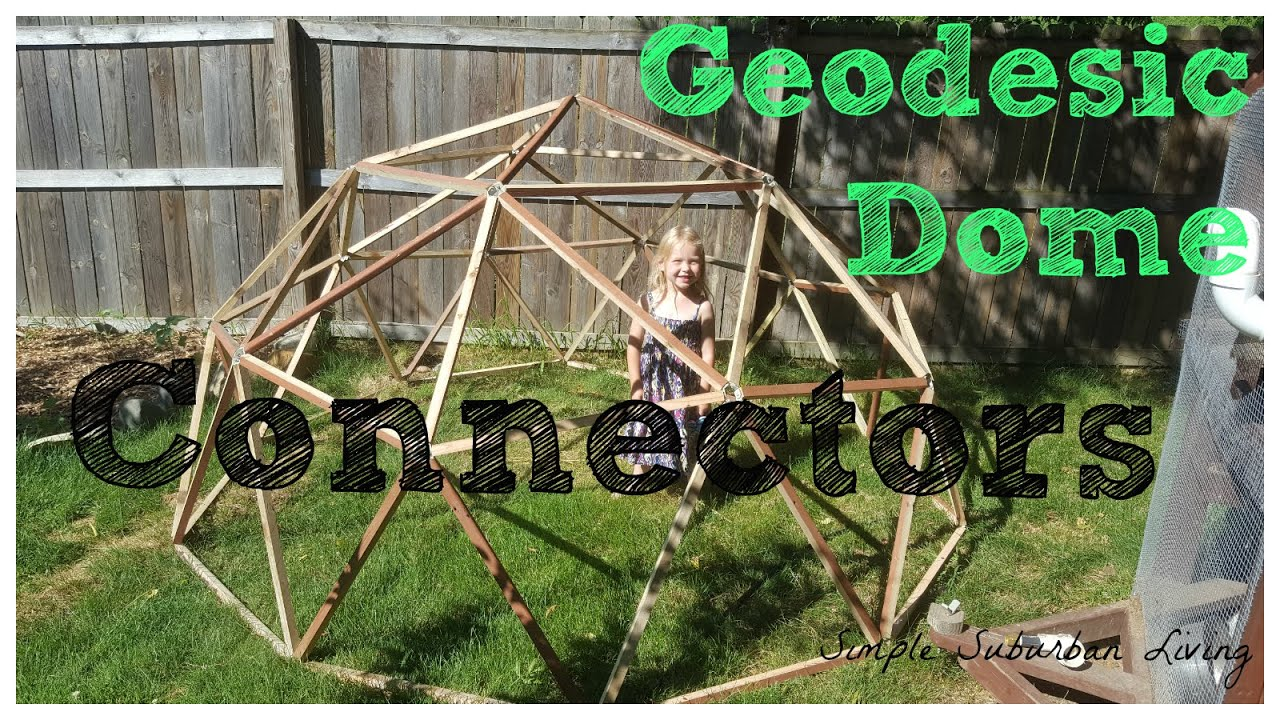 The Ultimate Geodesic Dome Connector
