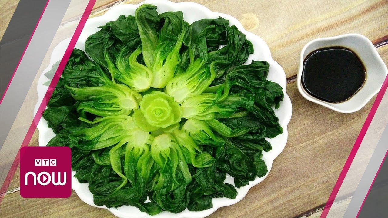 Tuyệt chiêu hấp chín rau cải bằng lò vi sóng