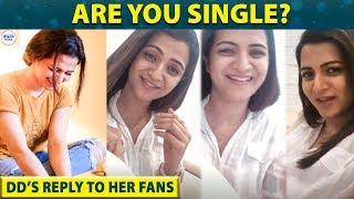 DD Opens up about her Relationship Status | DhivyaDharshini Q and A | LittleTalks