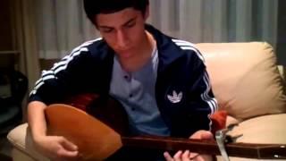 Eko Fresh- Köln Kalk Ehrenmord mit Türkischer Gitarre Sehr Gut. Saz (Baglama)