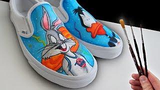 Custom Looney Tunes VANS!
