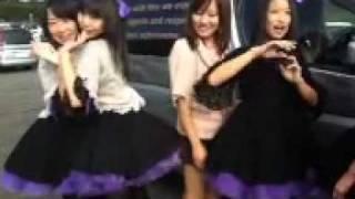 2011/10/01 大分オートポリスで開催されたSUPER GT IN KYUSHUに出演時のUstより 合体するあぁちゃんとめいてぃんw ...