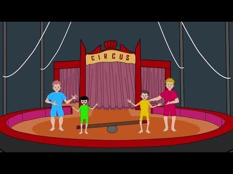 Neulich im Zirkus - Kinderlied - Video für Kinder