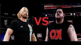 XBOX ONE版の プロレスゲーム WWE 2K18のオンライン対戦でプロレスごっ...
