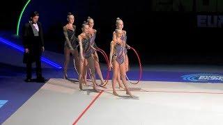 RGG JUNIOR TEAM ESTONIA (EST) 5 Hoops  JUNIOR GROUPS AA  European Championships Baku