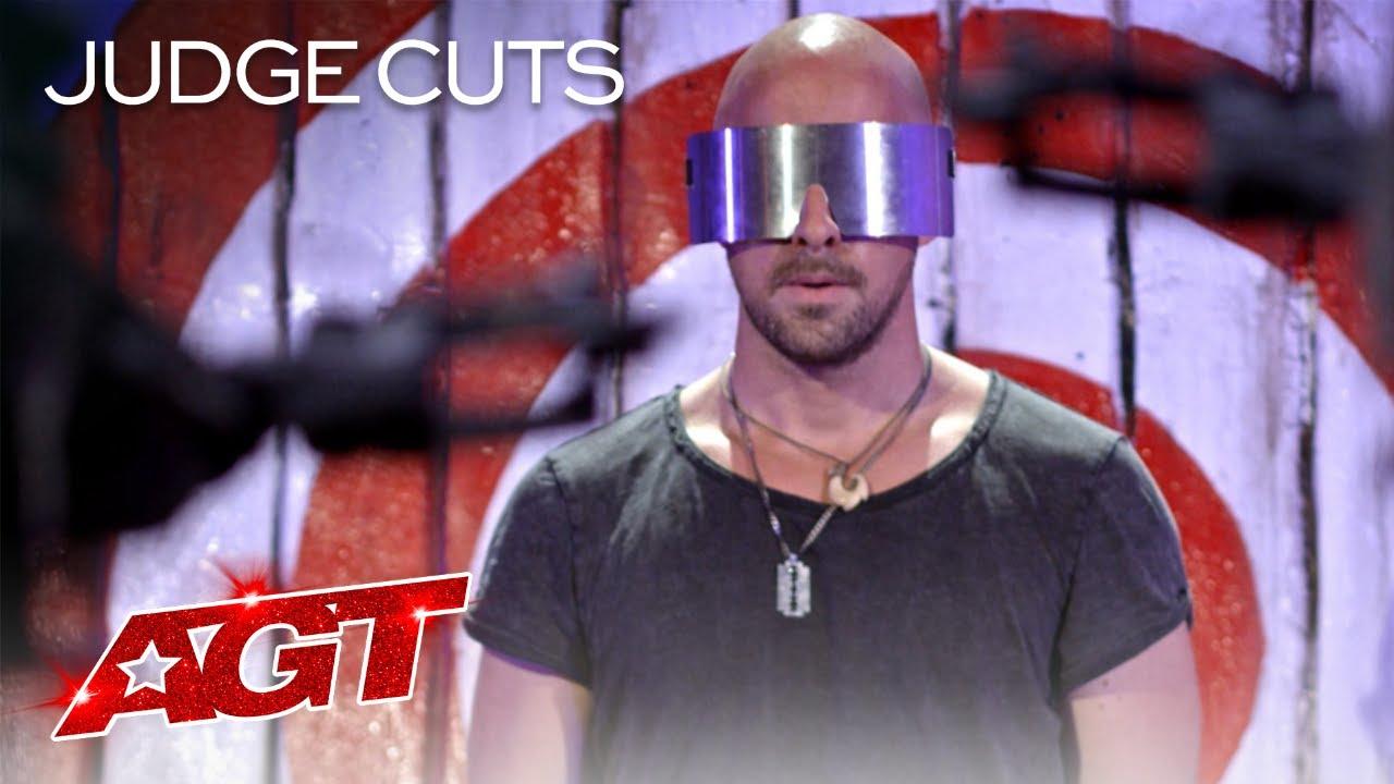 Download Danger Act Jonathan Goodwin Brings His MOST DANGEROUS Performance?! - America's Got Talent 2020