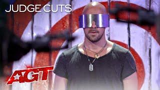 Download Lagu Danger Act Jonathan Goodwin Brings His MOST DANGEROUS Performance?! - America's Got Talent 2020 mp3
