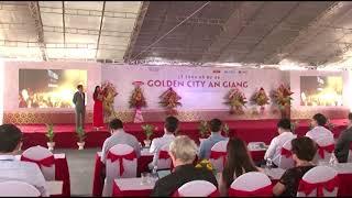 Phạm Thúy Quỳnh - Lễ công bố dự án Golden City An Giang