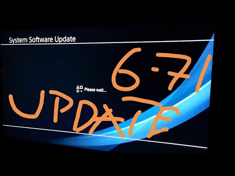 PS4 6.71 System Software New Update Latest Version Install In 5Min