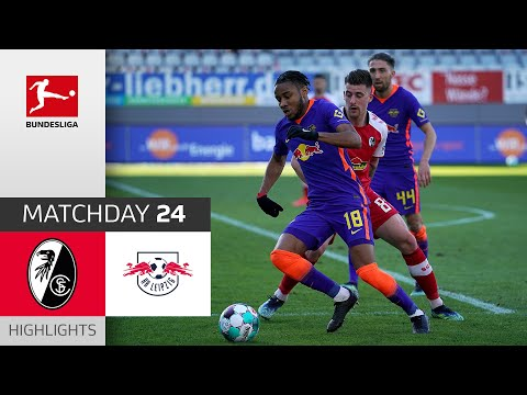 Freiburg RB Leipzig Goals And Highlights