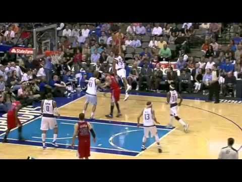 Blake Griffin Tremendous Follow up DUNK vs. Mavs