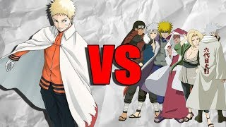 Could Naruto Beat All The Hokage?