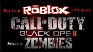 ROBLOX Call of Duty Zombies: Ray Gun Gameplay, Including COD Zombies Hack and 30,000+ Points