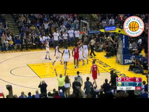 Festus Ezeli cracks Lob City! Block of the year!