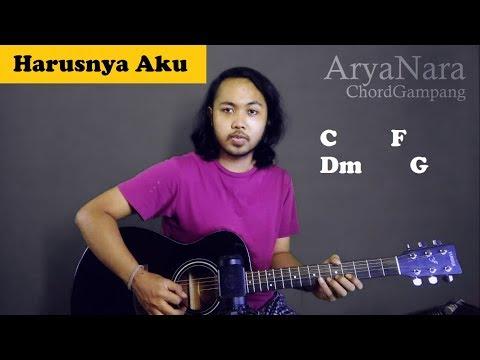 Chord Gampang (Harusnya Aku - Armada) by Arya Nara (Tutorial Gitar) Untuk Pemula