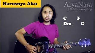 Download Chord Gampang (Harusnya Aku - Armada) by Arya Nara (Tutorial Gitar) Untuk Pemula