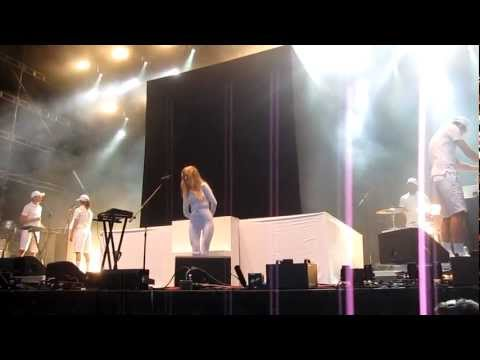 iamamiwhoami - Good Worker (live) @ Popaganda, Stockholm 2012-08-25