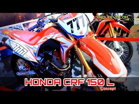 Motor Trail HONDA CRF 150 L Indonesia