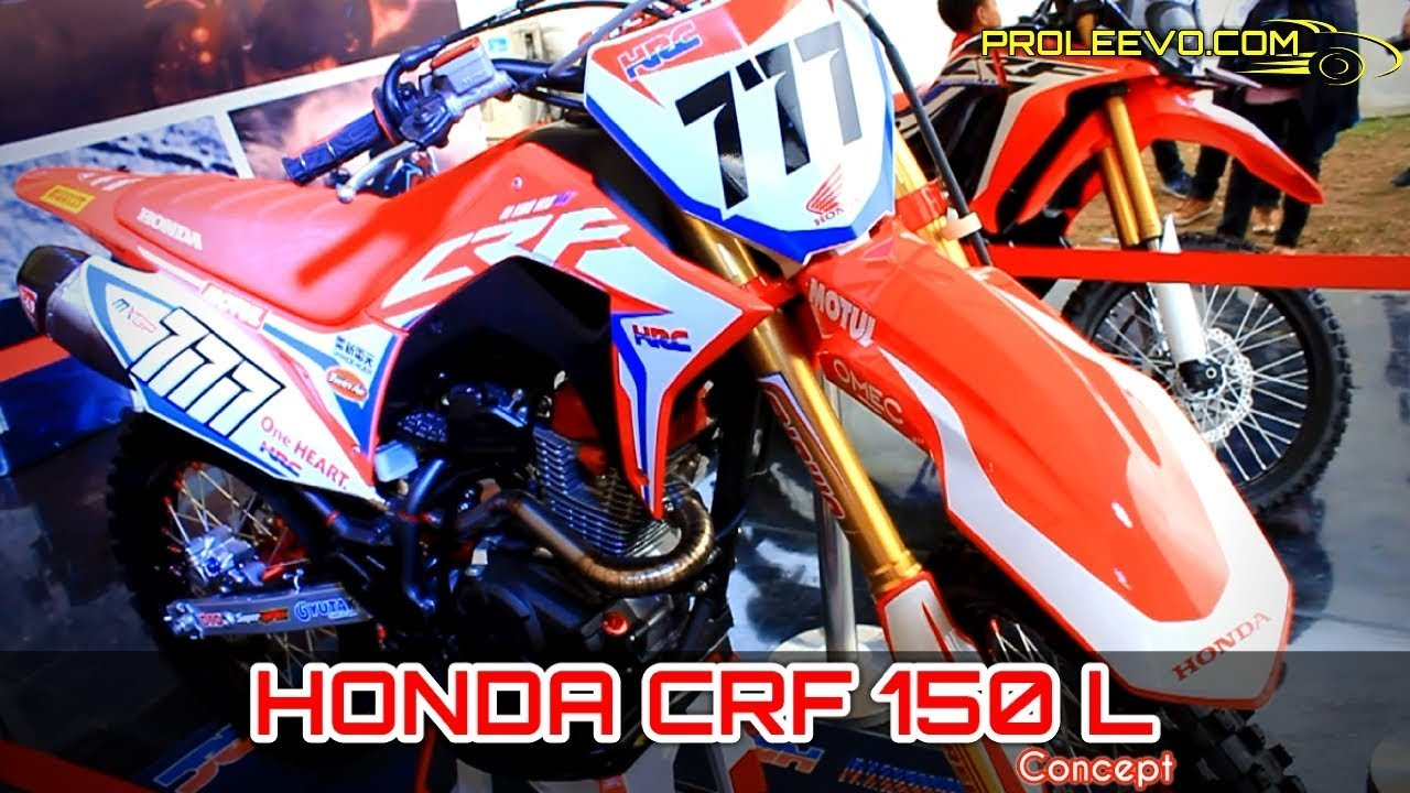 Motor Trail HONDA CRF 150 L Indonesia YouTube