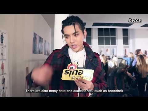 [1080P] [ENG SUB] 170917 Kris Wu - Burberry Show LFW 2017 (Sina Interview)