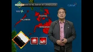 Weather update as of 6:00 a.m. (January 16, 2018)