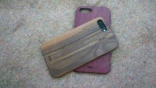 Test des coques en bois Glitty pour iPhone