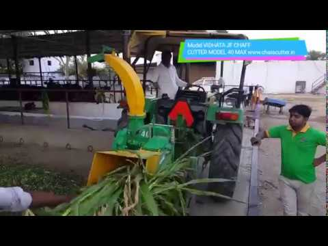 Chaff Cutter for Silage making - Solution to Every Dairy Feed model 40 max