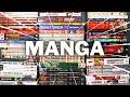 Gambar cover HUGE Manga Haul    150+ Volumes!