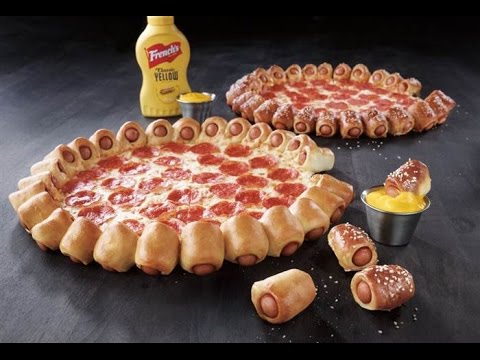 Downfall of Humanity: Pizza Hut Offering Hot Dog-Stuffed Crust Pizza thumbnail