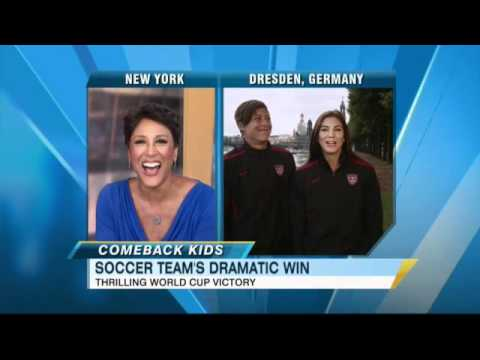 Women's World Cup: Team USA Interview Abby Wambach and Hope Solo on Incredible Victory Over Brazil