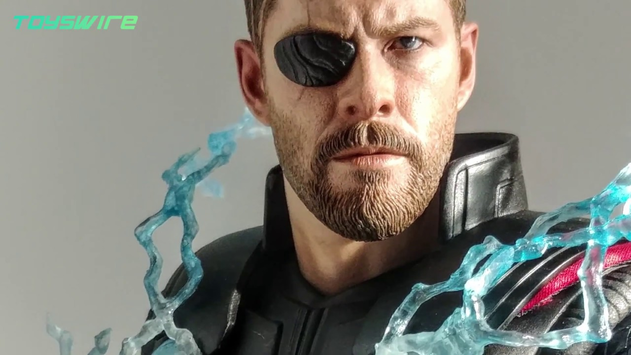 Avengers Infinity War Thor 16th Scale Collectible Figure Youtube