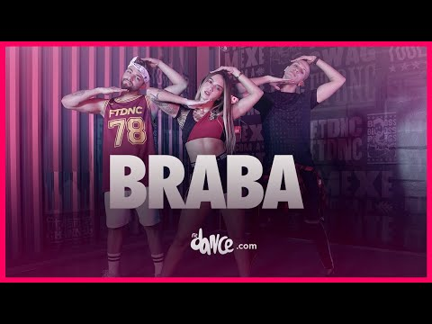 Luísa Sonza - Braba | FitDance TV (Coreografia) Dance Video
