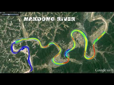 Flood Simulation in the Nakdong river by Nays2D