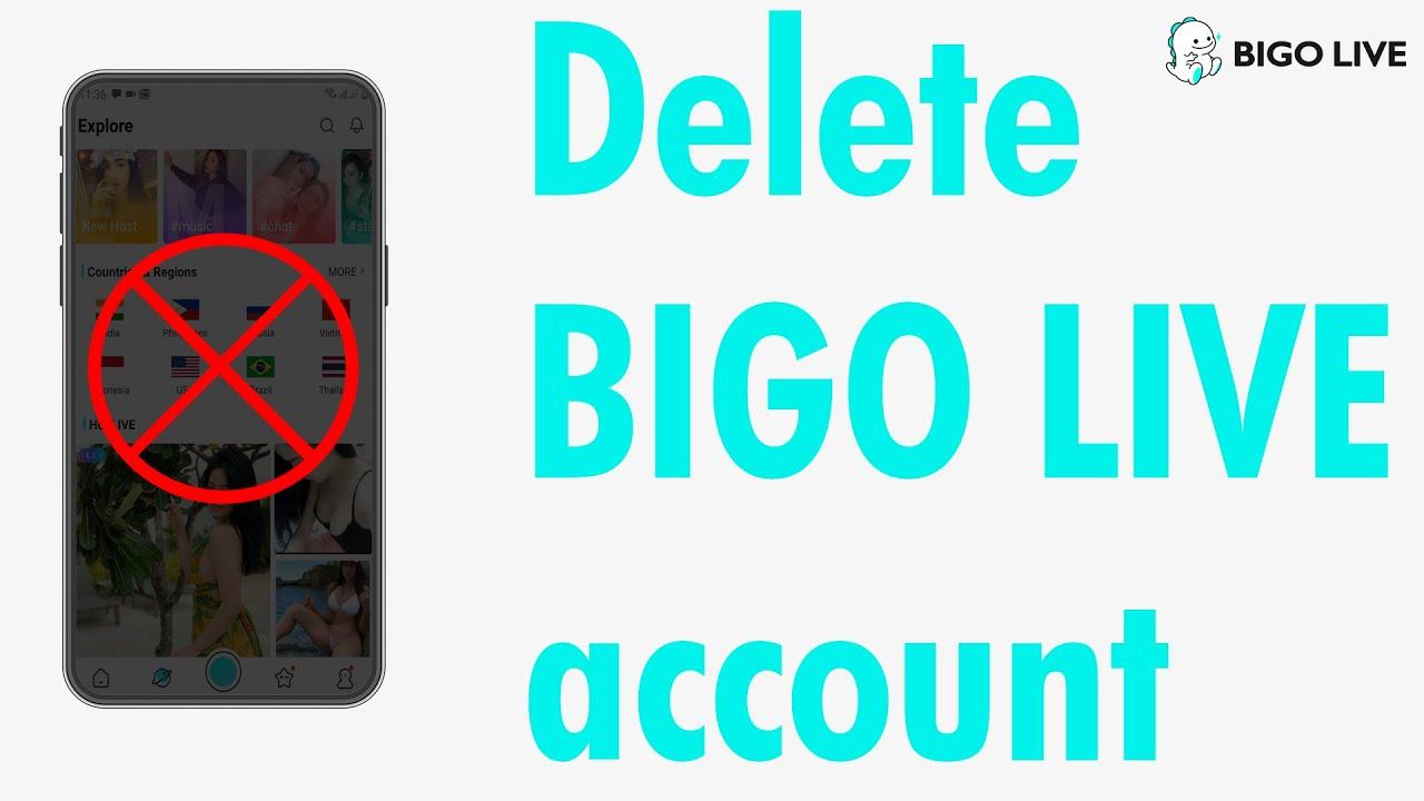 How to Delete BIGO Account 2020: Close BIGO Live Account Permanently