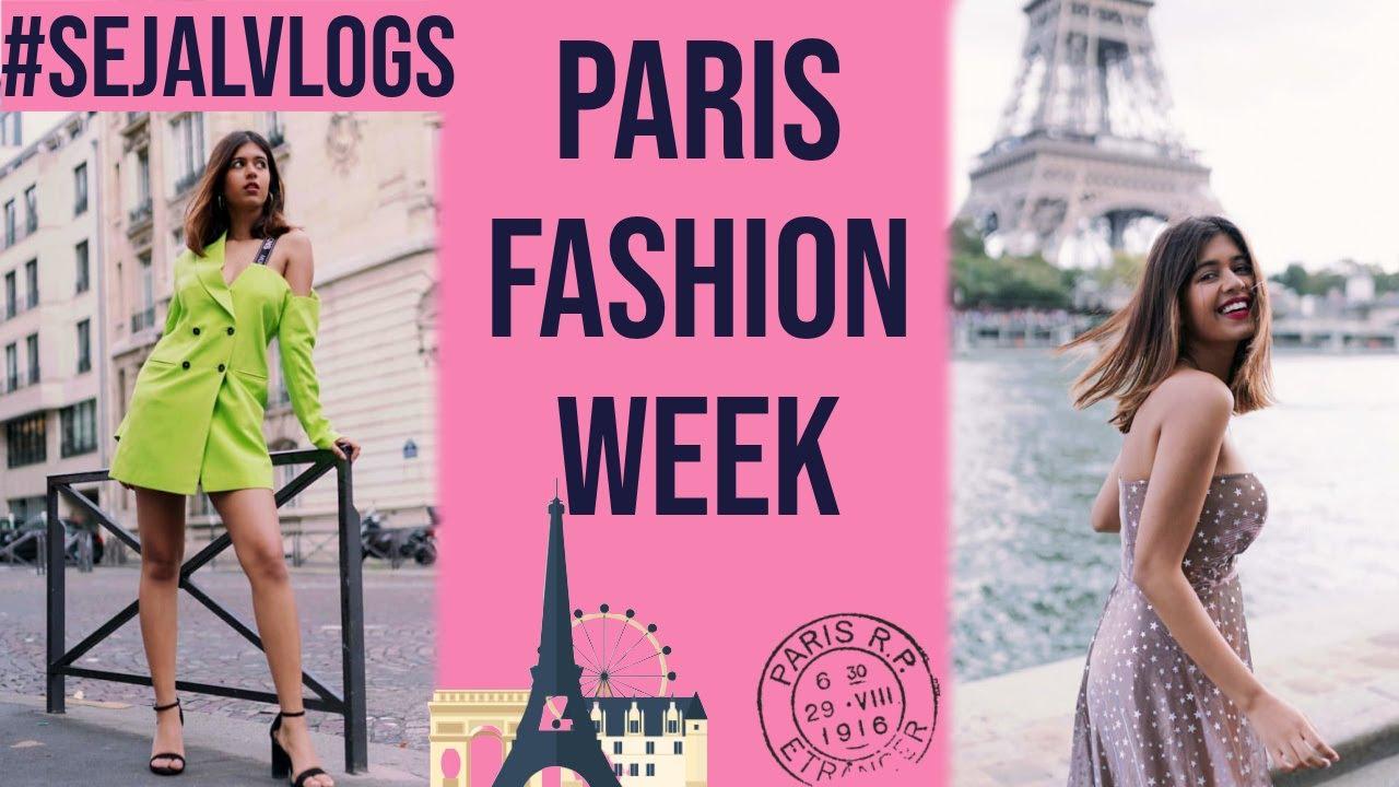 [VIDEO] - What I did and WORE in Paris Fashion Week! | Paris Vlog | Sejal Kumar 5