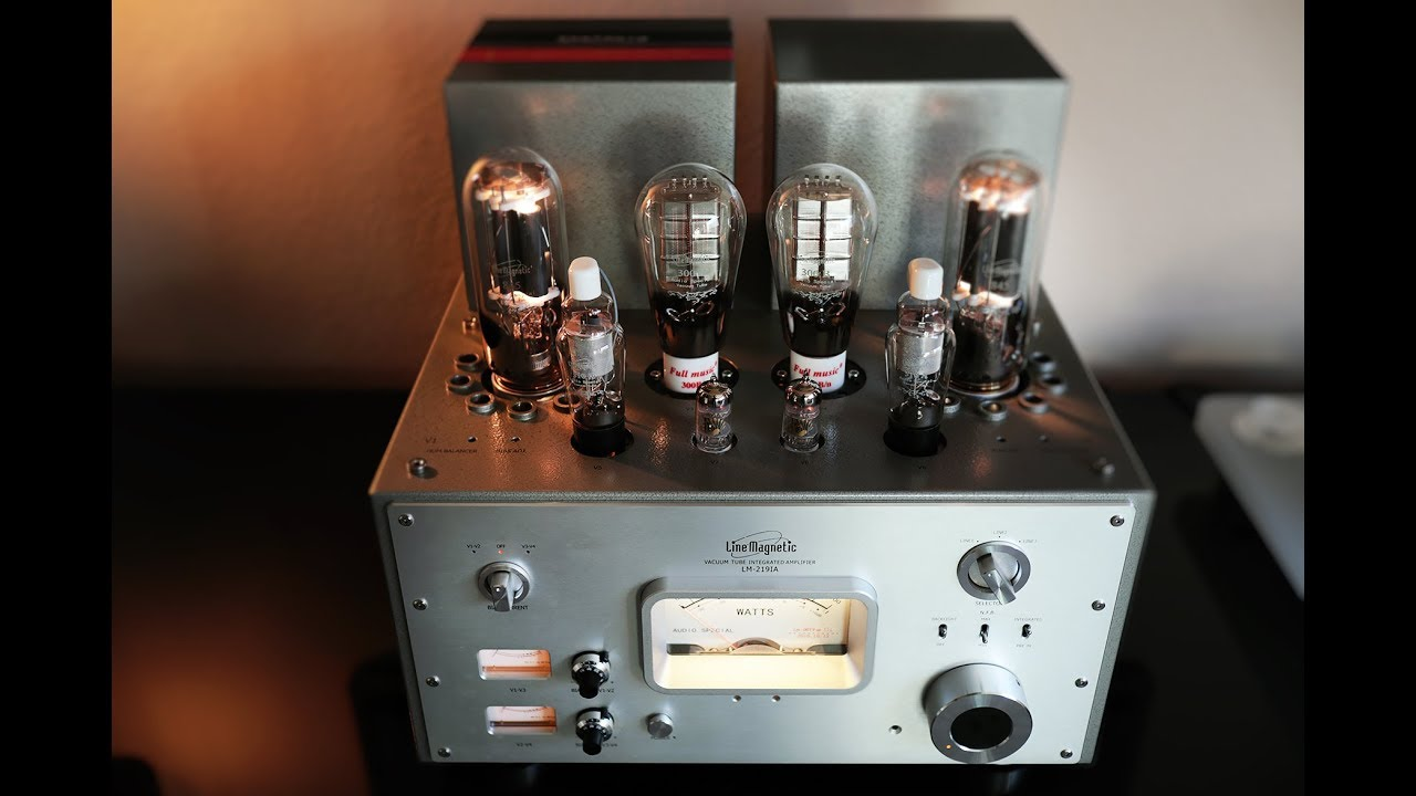HIFI Review: Line Magnetic 219ia with Klipsch Heresy III - Single ended  Triode at its finest