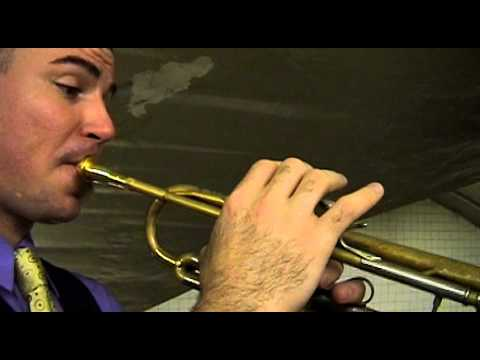 """""""Double"""" from J.S. Bach Partita No.1 for Violin performed on Trumpet by Charlie Porter"""