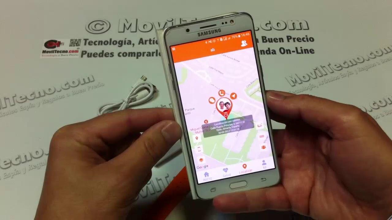 808a2f125198 Reloj localizador GPS para niños - MovilTecno.com - YouTube