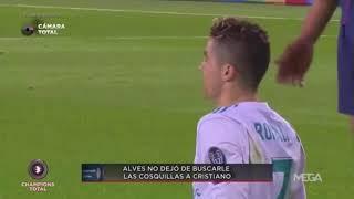 Download Video This is Why Cristiano Ronaldo Kicked Alves   Why Ronaldo Hates Dani Alves MP3 3GP MP4