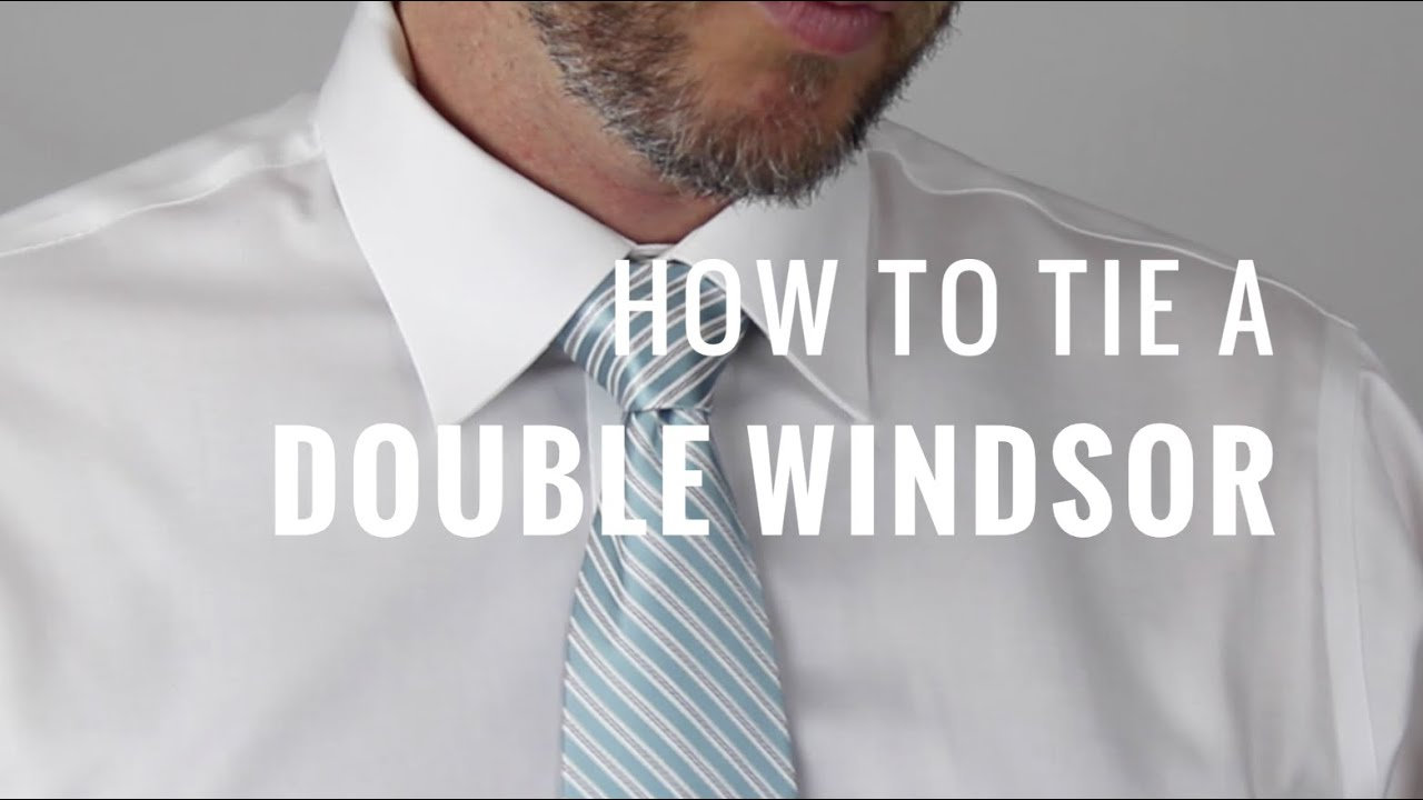 how to tie a tie double knot video download