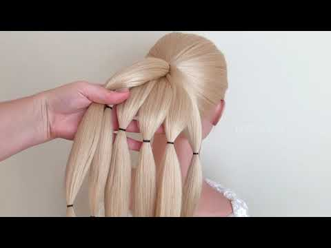 Красивые прически на длинные волосы видеоуроки