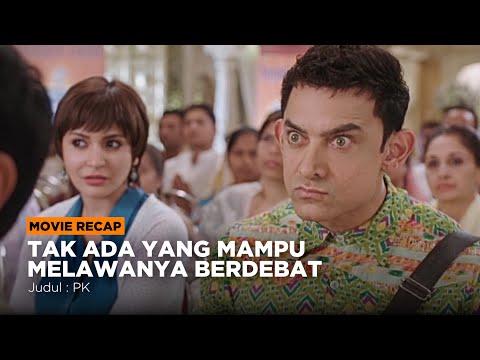 DIANGGAP GILA KARNA MELAWAN NABI PALSU - Alur Cerita Film PK (2014) #PART2