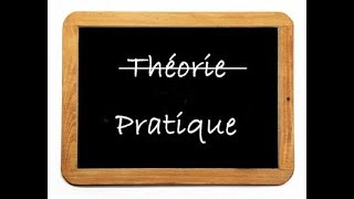En théorie Vs en pratique- practice french language